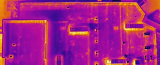 RAM USA Drone Infrared Roof Scans