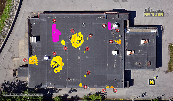 Property Assessments - Aerial Infrared Moisture Scans